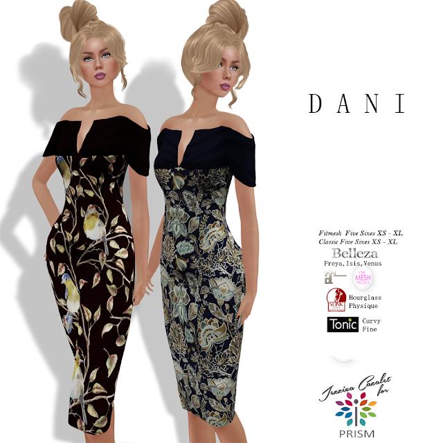 PRISM ~ New Exclusive at the TWE12VE November by Jezzixa Cazalet DANI Dresses