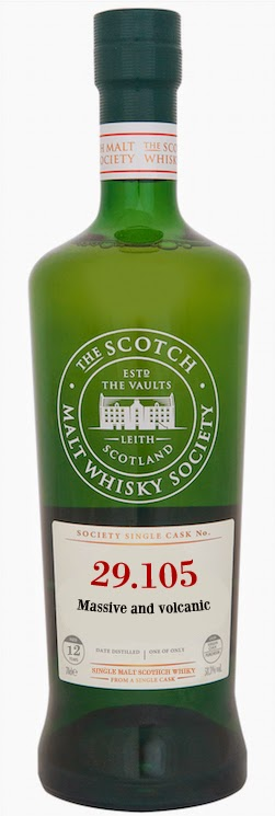 Laphroaig SMWS 29.105 Massive and Volcanic