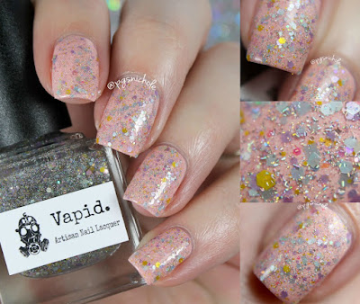 Vapid Lacquer Pretty Pretty Princess over Persephone
