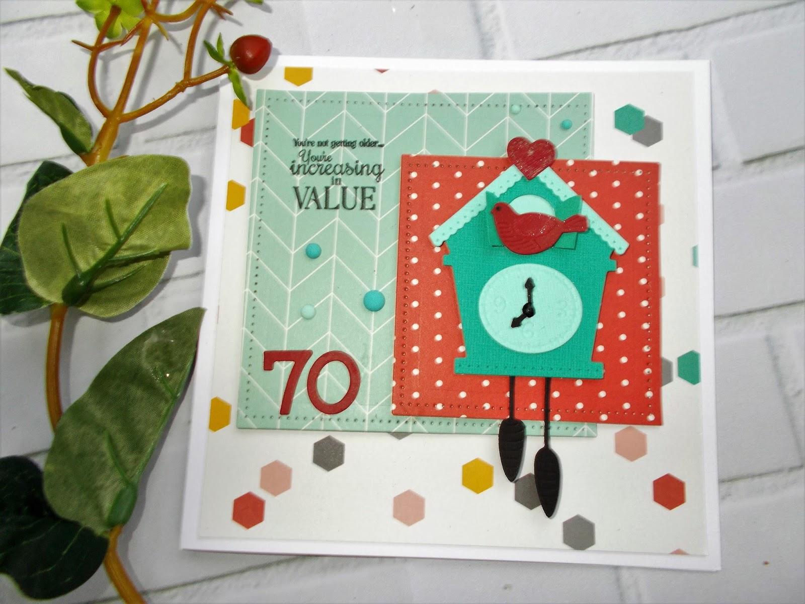 Going Buggy: Cuckoo Clock - Spellblogger post for Spellbinders