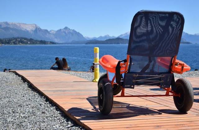 Pontos turísticos para deficientes físicos em Bariloche