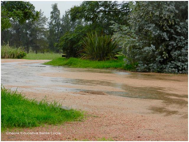 Lluvias de abril - Chacra Educativa Santa Lucía