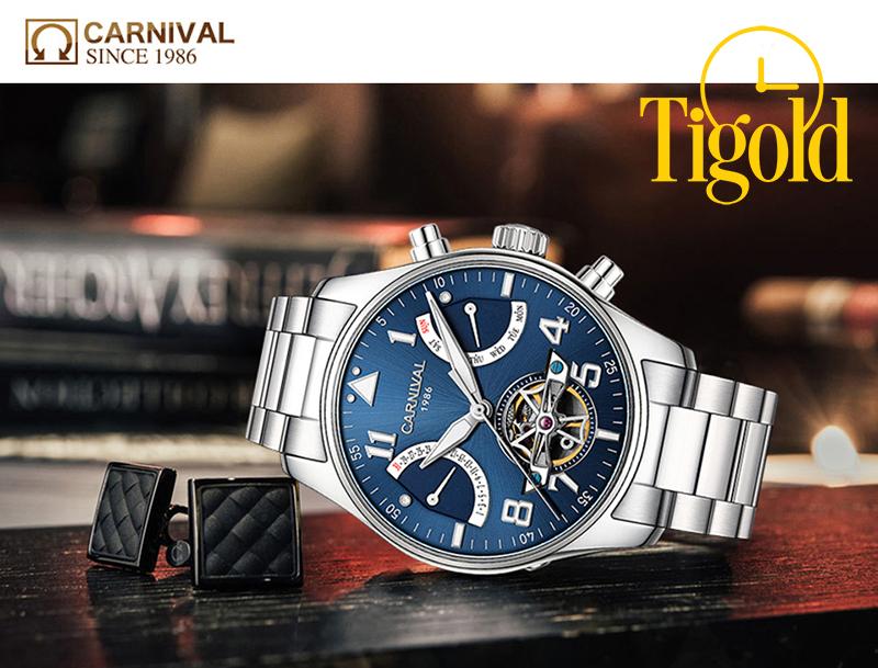 nguồn gốc đồng hồ carnival của nước nào