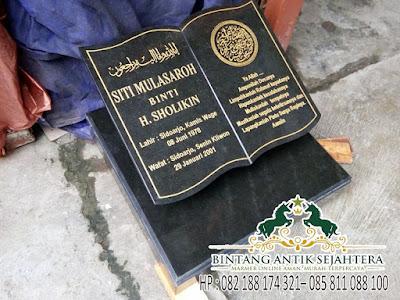Harga Kepala Batu Nisan, Produk Batu Kuburan