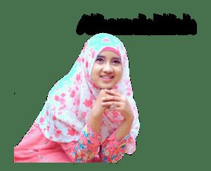 Sticker WhatsApp Senja Hijaber