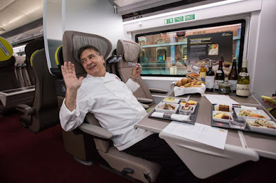 on board buffet eurostar train
