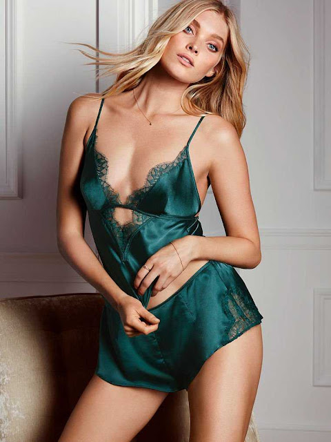 Elsa Hosk smoulders for new Victoria's Secret shoot
