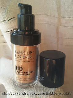 HD Foundation - Make Up For Ever - Fondotinta MUFE - Swatch 117 125 155 160 173 - Review - Recensione - Prezzo - INCI - Ingredienti