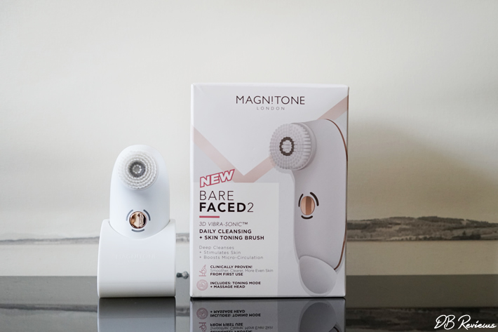 Magnitone Barefaced 2 Cleansing and Toning Brush