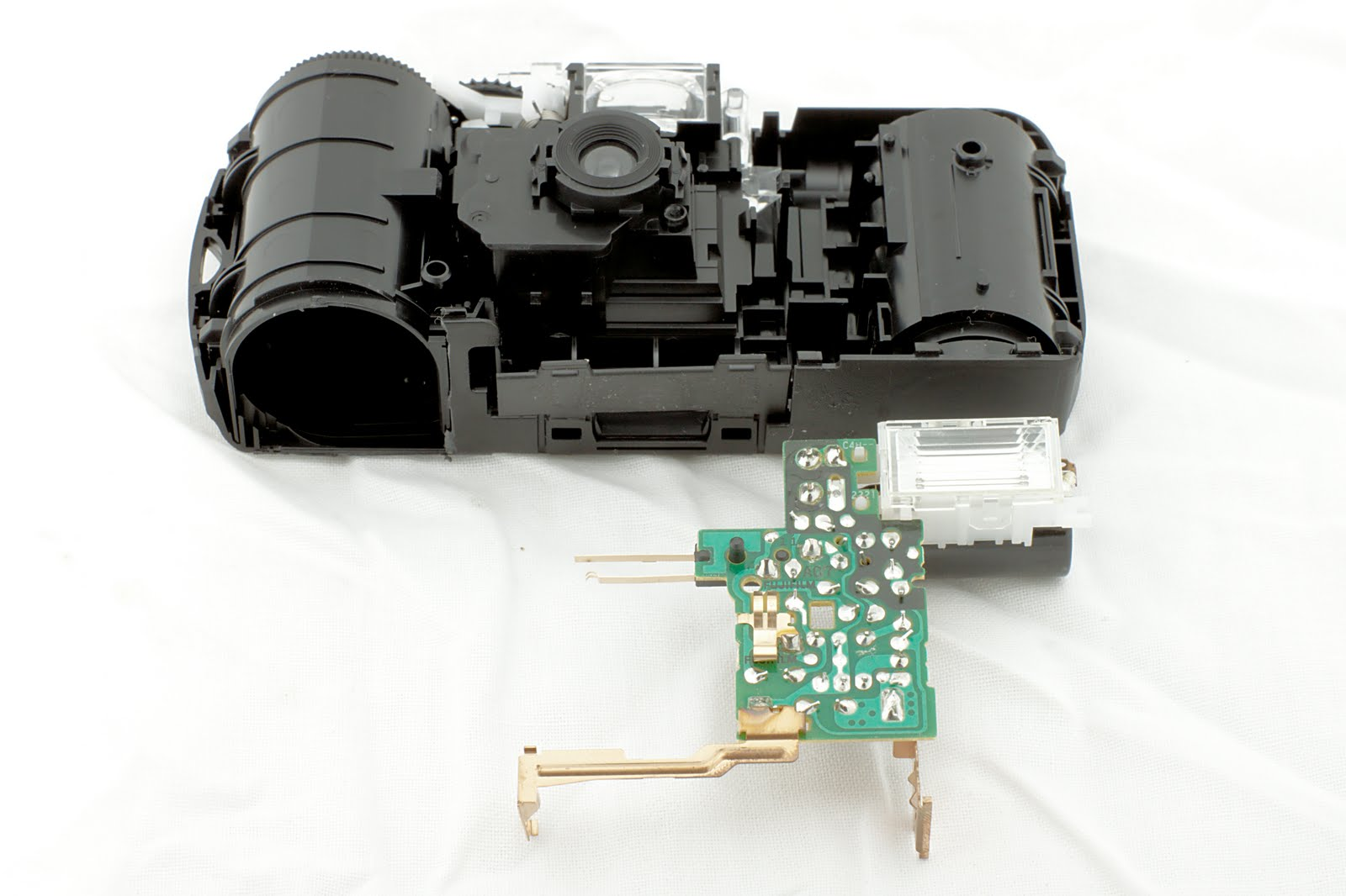 Highly Entropic: Taking apart a disposable camera