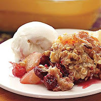 Recipe Apple Cranberry Crisp