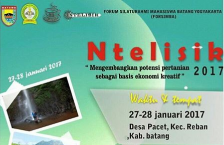 "Event Batang | 27-28 Januari 2017 | Forsimba "" Ntelisik"""