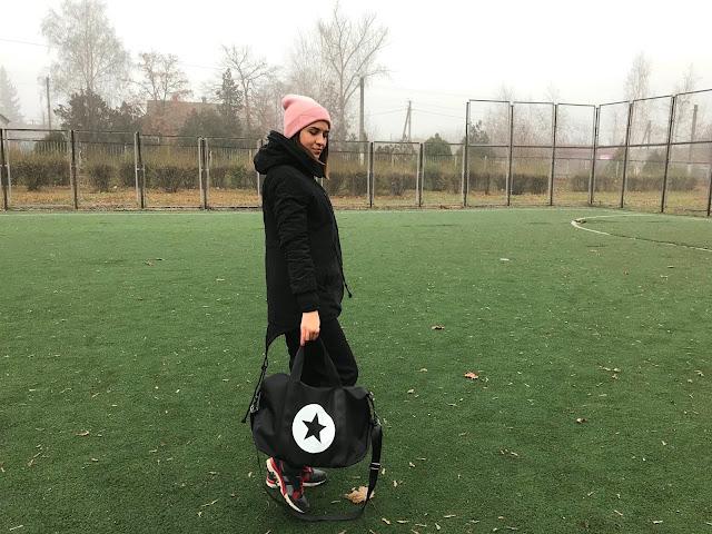 Star Color Block Gym Bag Zaful