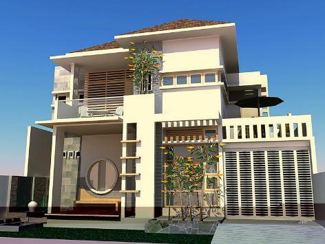 contoh-contoh gambar rancangan arsitek desain rumah