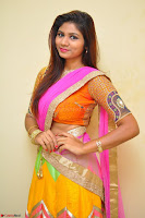 Lucky Sree in dasling Pink Saree and Orange Choli DSC 0377 1600x1063.JPG