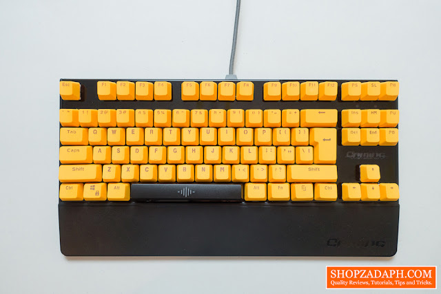 cheap doubleshot pbt keycaps from shopee
