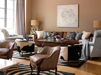 Warm Brown Colors For Living Room