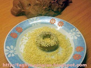 Μουστοκούλουρα με σουσάμι - από «Τα φαγητά της γιαγιάς»