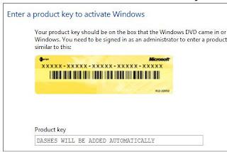 disattivare product key