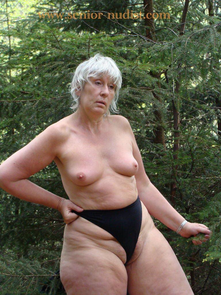 Hot granny exposed