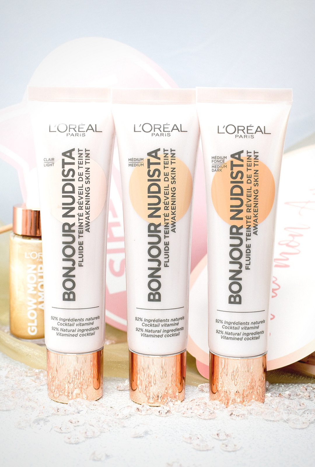 L'Oréal Paris Bonjour Nudista Awakening Skin Tint, BB Cream, Review, Swatch