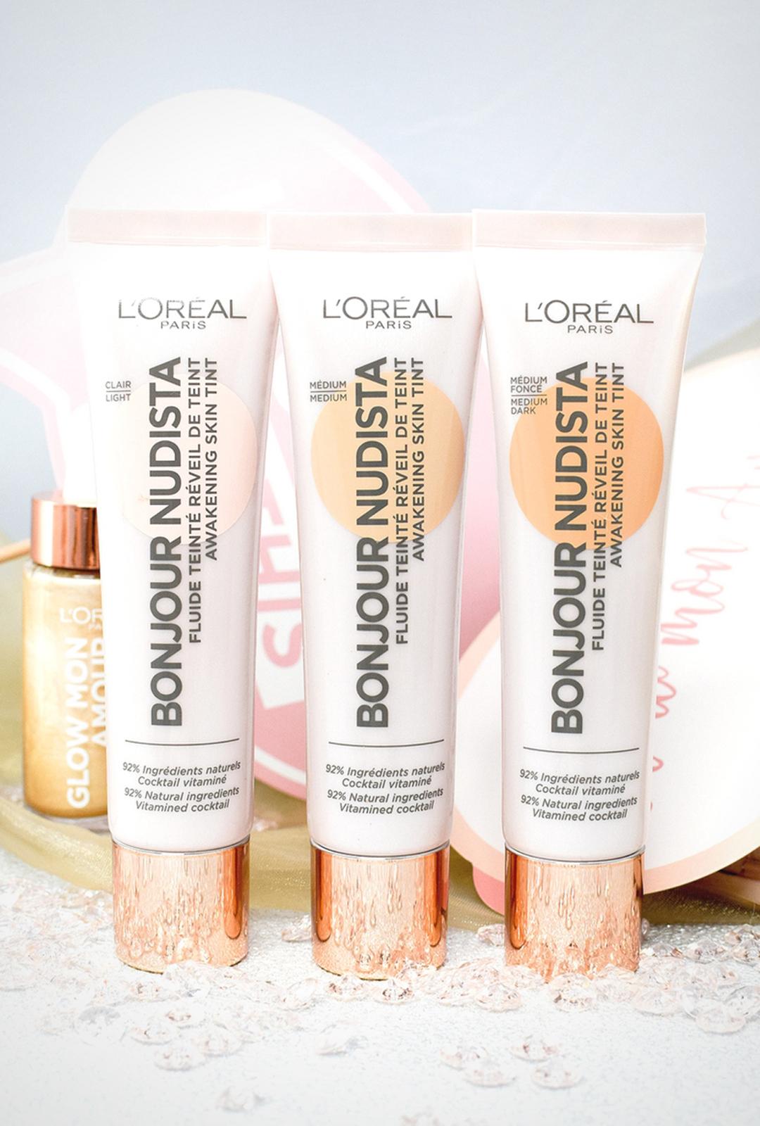 L'Oréal Paris Bonjour Nudista Awakening Skin Tint, BB Cream, Review, Swatch