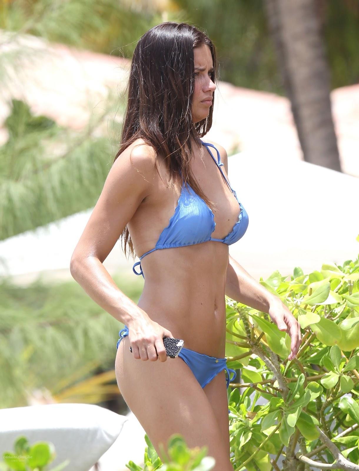 Lezetblog: Adriana Lima Shows Off Her Bikini Body During A ...