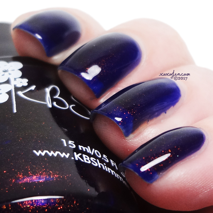 xoxoJen's swatch of KBShimmer Let's Slang