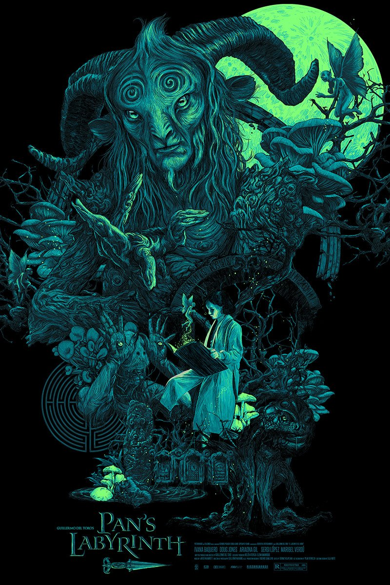 The geeky nerfherder coolart 39 el fauno 39 by vance kelly - Fresh pan s labyrinth wallpaper ...