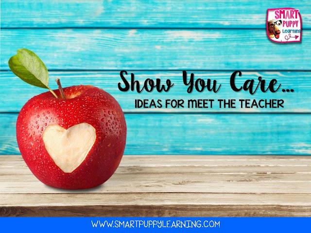 Ideas for meet the teacher