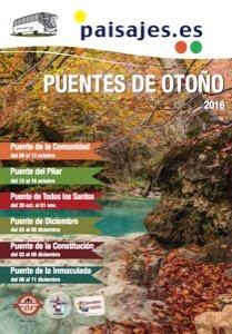 Catálogo viajes puentes de otoño europa 2016