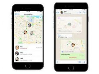 Whatsapp just rolled in live location sharing feature to its app. Read how it works