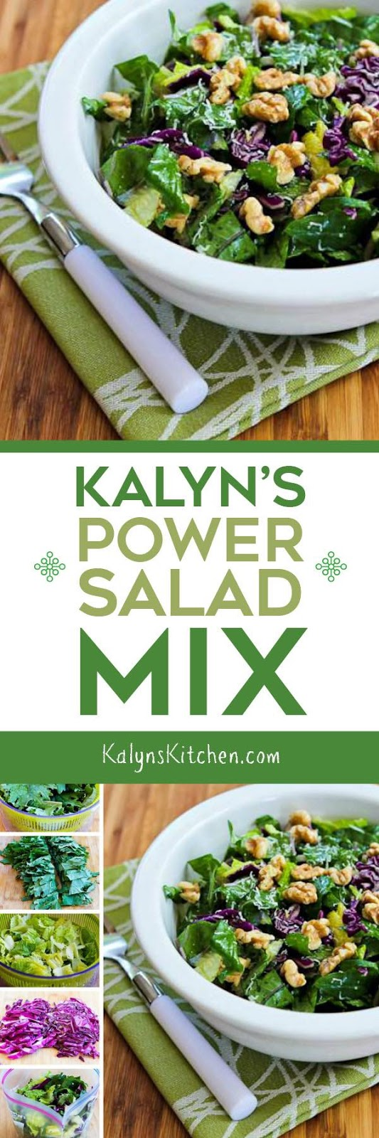 Kalyn's Kitchen®: Kalyn's Power Salad Mix (and the quest to eat more ...