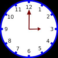 Gambar jam pukul 03.00