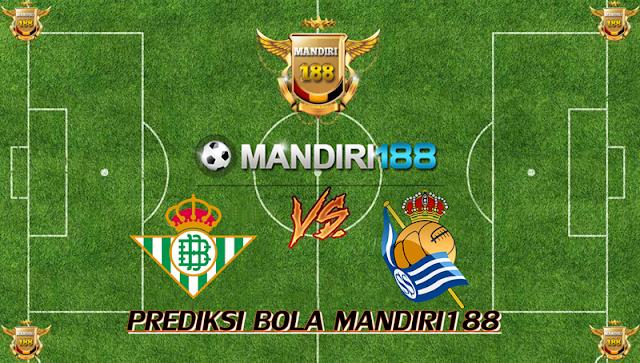 AGEN BOLA - Prediksi Real Betis vs Real Sociedad 2 Maret 2018