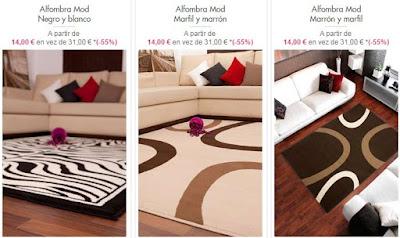 alfombras modernas
