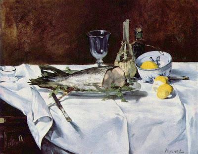 Manet, martwa natura