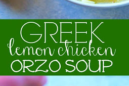 Greek Lemon Chicken Orzo Soup