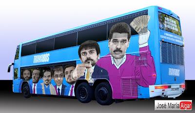 #TramaBUS  Tramabús, el autobús de Podemos.
