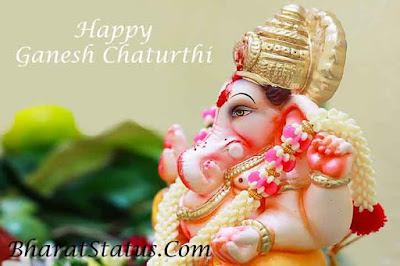 Ganesh chaturthi status in hindi images status