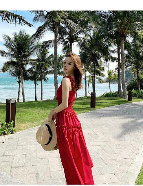 Shop ban vay maxi o Thuong Tin