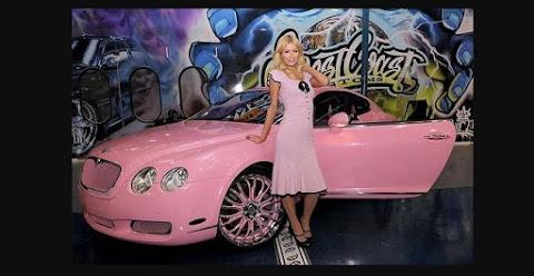 El Bentley Continental GT de Paris Hilton