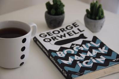 Kitap Yorumları, Boğulmamak İçin, George Orwell, 9789750726491, Suat Ertüzün, Can Yayınları, Roman, Edebiyat