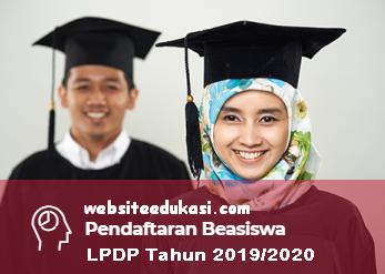 Jadwal Beasiswa LPDP Tahun 2019/2020