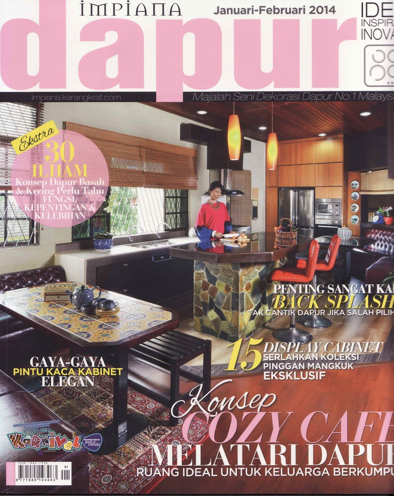 Oh Mai Wedding In Dapur Impiana Magazine Jan Feb 14 Edition