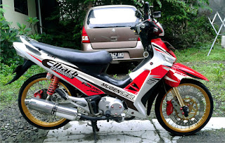 modifikasi supra x 125 thailook