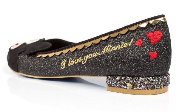 irregular choice i love you minnie shoes