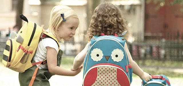 mochilas ideal para crianças pequenas