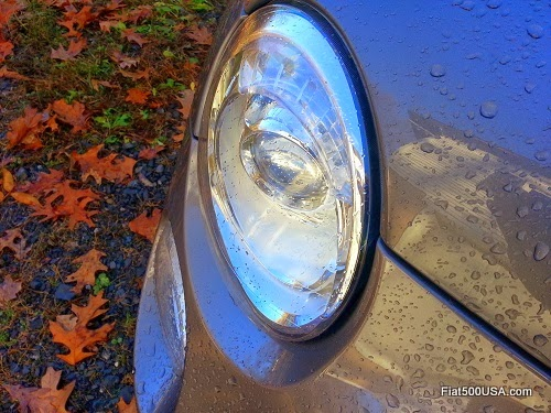 Fiat 500 Abarth Headlight