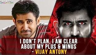 I don't plan, I am clear about my plus & minus – Vijay Antony